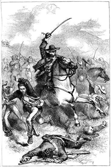 Battle of Buena Vista, Mexico, 1847--Giclee Print