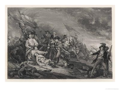 Battle of Bunker Hill-John Trumbull-Giclee Print