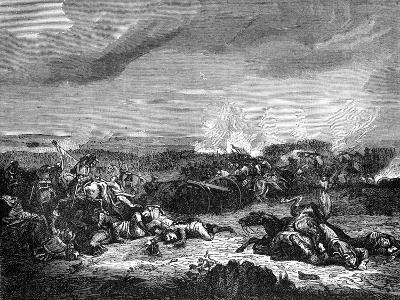 Battle of Champaubert, France, 10th February 1814 (1882-188)- Duvivier-Giclee Print
