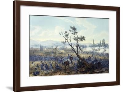 Battle of Churubusco, August 20, 1847-Carl Nebel-Framed Giclee Print
