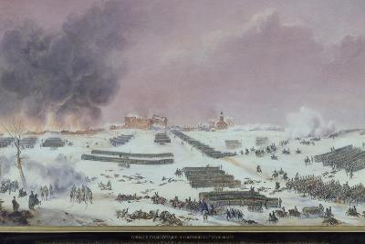 Battle of Eylau, 1807--Giclee Print