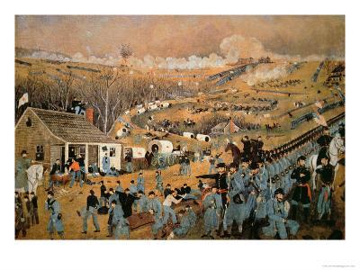 Battle of Fredericksburg, 1862-John Richards-Giclee Print