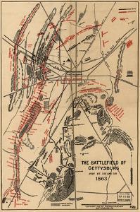 Battle of Gettysburg No.1