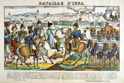 Battle of Jena, 14 October, 1806--Giclee Print