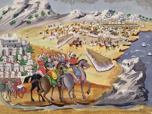 Battle of Langada and Compoti in 1821, from the Pictorial History of the Greek War of Independence