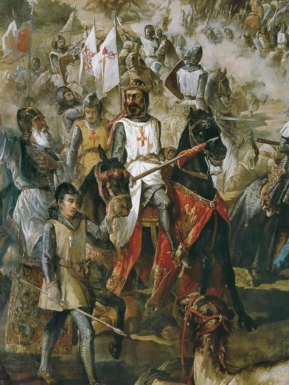 Battle of Las Navas De Tolosa-Francisco De Paula Van Halen-Art Print