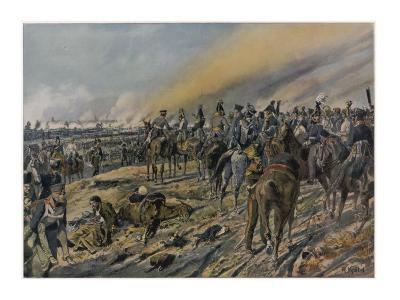 Battle of Leipzig : the Allied Leaders Confer on the Third Day of the Battle--Giclee Print