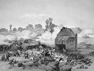 Battle of Long Island, 30 August 1776--Giclee Print