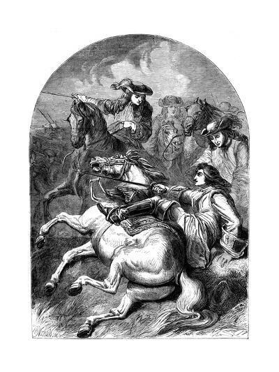 Battle of Malplaquet, 1709--Giclee Print