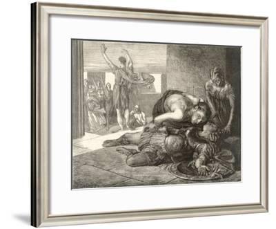 Battle of Marathon-Frederick George Cotman-Framed Giclee Print
