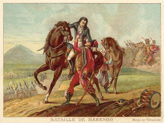 Battle of Marengo, Italy, 1800-Jean-Baptiste Regnault-Giclee Print
