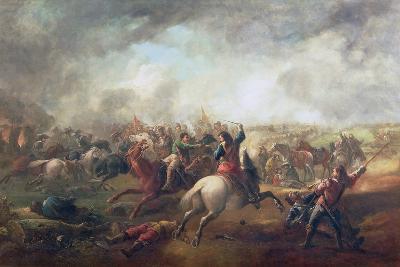 Battle of Marston Moor, 1644-John Barker-Giclee Print