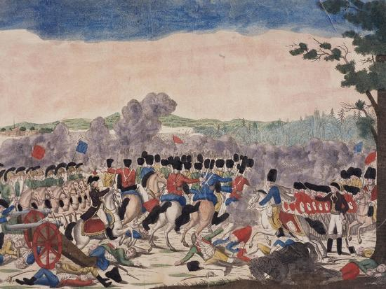 Battle of Millesimo, First Italian Campaign, April 13-14, 1796, French Revolutionary Wars, Italy--Giclee Print