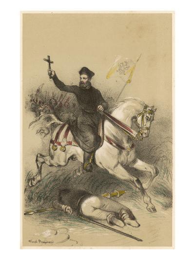 Battle of Mulhberg--Giclee Print