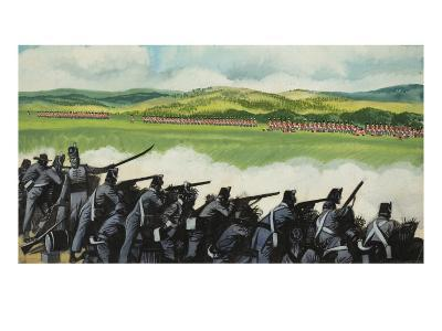 Battle of New Orleans on 8th January 1815-Ron Embleton-Giclee Print