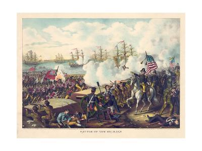 Battle of New Orleans--Giclee Print