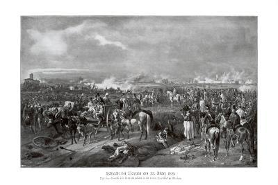Battle of Novara, Italy, 23 March 1849--Giclee Print
