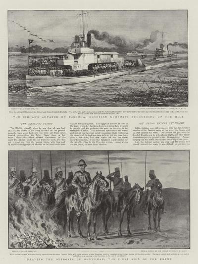 Battle of Omdurman-Charles Joseph Staniland-Giclee Print