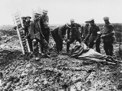 Battle of Passchendale-Robert Hunt-Photographic Print
