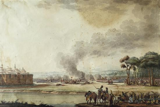 Battle of Piacenza, June 20, 1799-Alexander Sanquirico-Giclee Print