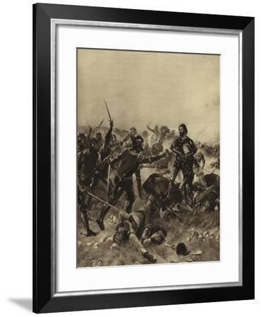 Battle of Poitiers, 1356-Henri-Louis Dupray-Framed Giclee Print