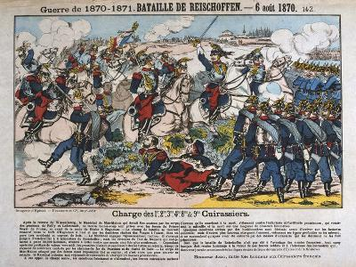 Battle of Reichshoffen, Franco-Prussian War, 6th August 1870--Giclee Print