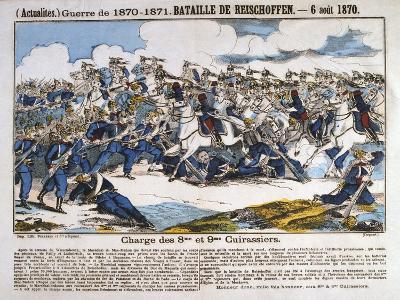 Battle of Reichshoffen, Franco-Prussian War, 6th August 1870--Giclee Print