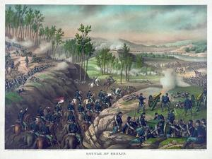 Battle of Resaca, Pub. Kurz and Allison, 1889