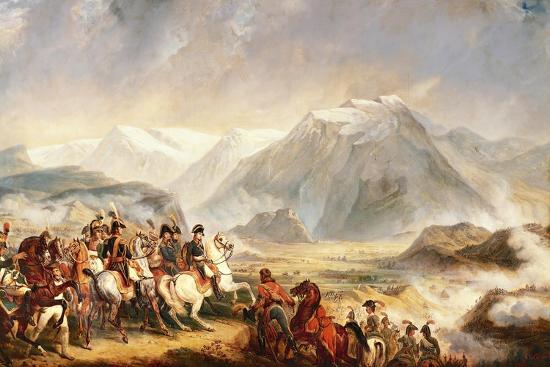 Battle of Rivoli, January 14, 1797-Francois Gabriel Guillaume Lepaulle-Giclee Print
