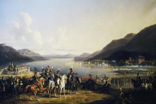 Battle of Salo, July 31, 1796-Hippolyte Lecomte-Giclee Print