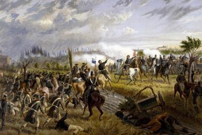 Battle of San Martino, June 24, 1859-Raffaele Pontremoli-Giclee Print