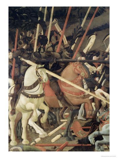 Battle of San Romano-Paolo Uccello-Giclee Print