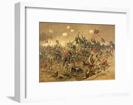 Battle of Spottsylvania-Thure De Thulstrup-Framed Giclee Print