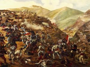 Battle of Tarapaca, November 27, 1879 Between Peruvians and Chileans, War of Pacific