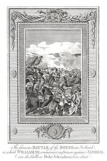 Battle of the Boyne, 1690--Giclee Print