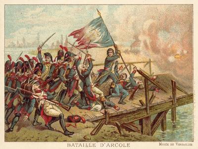 Battle of the Bridge of Arcole, Italy, 1796--Giclee Print