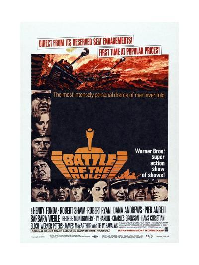 Battle of the Bulge, 1965, Directed by Ken Annakin--Giclee Print