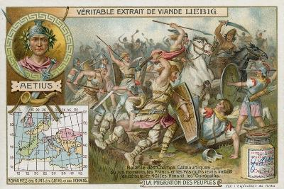 Battle of the Catalaunian Plains, 451--Giclee Print