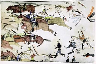Battle of the Little Big Horn, Montana, USA, 25-26 June 1876