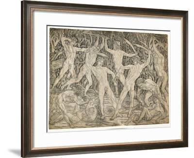 Battle of the Nudes, C. 1470-Antonio Pollaiuolo-Framed Giclee Print