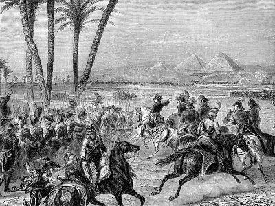 Battle of the Pyramids, 21st July 1798 (1882-188)--Giclee Print