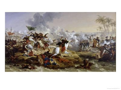 Battle of the Pyramids-Francois Andre Vincent-Giclee Print