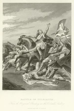 Battle of Tolbiacum-Alphonse Marie de Neuville-Giclee Print