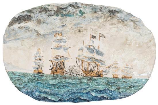 Battle of Trafalgar 1805-Vincent Booth-Giclee Print