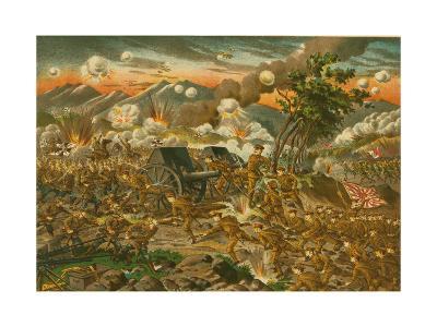 Battle of Ussuri--Art Print