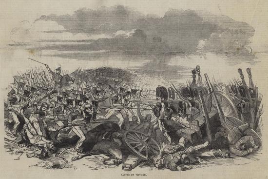 Battle of Vittoria--Giclee Print
