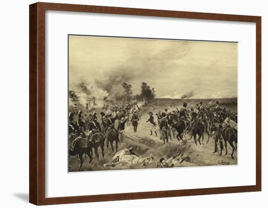 Battle of Waterloo, 1815-Henri-Louis Dupray-Framed Giclee Print