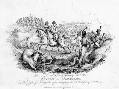 Battle of Waterloo, Belgium, 1815-George Jones-Giclee Print
