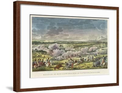 Battle of Waterloo the Final Defeat of Napoleon at Waterloo--Framed Giclee Print