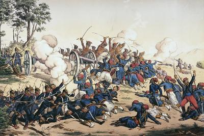Battle of Wissembourg, Franco-Prussian War--Giclee Print